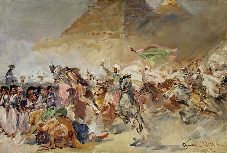 Napoleons taktik under slaget vid pyramiderna