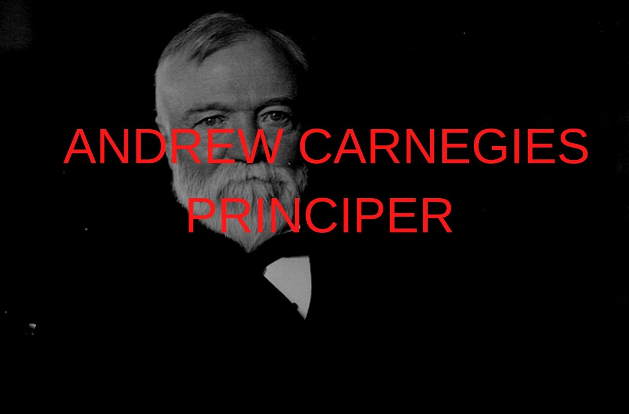 Andrew carnegie är en av 1900-talets största ledare