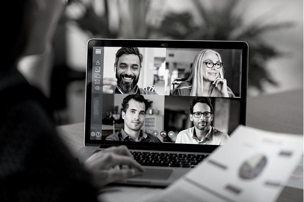Webbmöten, en viktig del när det kommer till att leda effektivt på distans